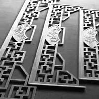 古亭铝挂落-中式铝挂落-质量对比