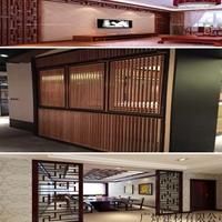 香港平谷中式铝窗花木纹铝花格复古型材定制仿古铝花格窗