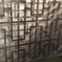 湖北恩施恩施木纹铝窗花幕墙复古铝窗花精雕铝花格图片大全