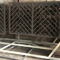 黑龙江黑河中式铝窗花仿古铝窗花格精雕铝花格图片大全