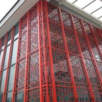 河北保定南市古典木纹铝窗花铝花格窗装饰