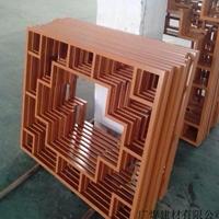 青海海南木纹铝屏风格栅番禺区铝花格厂家
