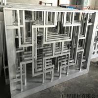 广东潮州中式铝窗花木纹铝花格复古型材定制仿木纹铝花格窗