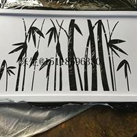 竹叶孔铝单板-不规则穿孔铝板