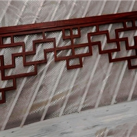 走廊铝挂落-木纹铝挂落-德普龙厂家