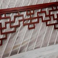 走廊铝挂落-木色铝挂落-质量对比