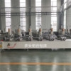 银川断桥铝门窗设备厂家直销 铝型材多头组合钻床