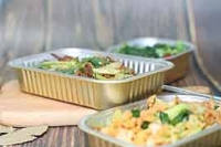 一次性铝箔餐盒烧烤烘焙订餐餐盒外卖快餐铝箔铝箔盒