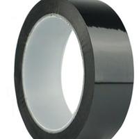 黑色PET电池胶带哑黑色胶带厚度齐全哑黑色单面胶电池标