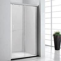 卫生间淋浴房玻璃隔断推拉门设计制作