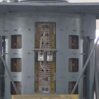 多工位中频透热炉 串联一拖二中频炉