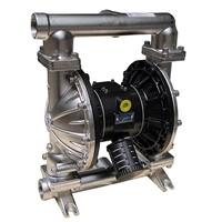 MK40(1.5寸)不锈钢气动隔膜泵  聚四氟乙烯气动隔膜泵