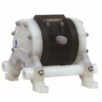 MK10(3/8寸)塑料耐腐蚀气动隔膜泵