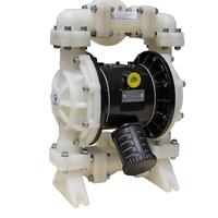 MK25(1寸)PTFE全氟塑料耐腐蚀酸碱泵pvdf隔膜泵