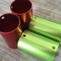 氧化6063铝管 铝圆管 氧化6063铝棒 切割 打孔 攻牙加工价格优惠