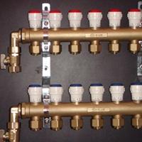 恒尔暖双手轮调节整体锻造分水器  操作简便灵活的分水器