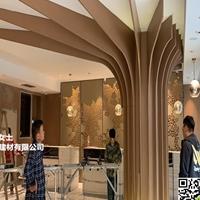 三元里酒店改造铝屏风镂空_弧形铝板厂家