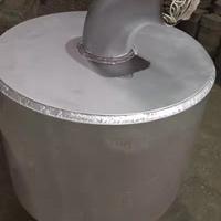 高温铝液除铁器