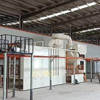 靜電噴粉涂裝生產線設備