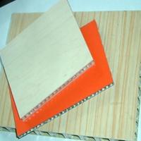 深圳木纹微孔铝蜂窝板 贴木皮铝蜂窝板
