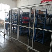 鋁合金護欄設備鋁型材防護欄
