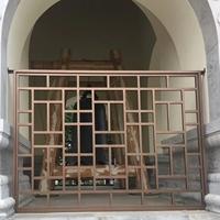 常用規格 鋁方管焊接鋁窗花 廠家定制