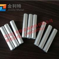 直销6063彩色氧化铝管  工艺品用铝管
