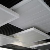 吊顶铝天花板,办公室铝扣板吊顶