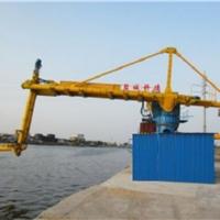 科德KD固定式粉煤灰水泥矿粉螺旋式卸船机