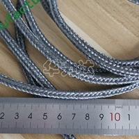 不锈钢金属纤维编织绳 耐高温金属套管