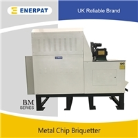 英国品牌全自动高配铝屑压饼机