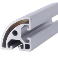 鋁合金圓弧角型材工業圓角鋁型材