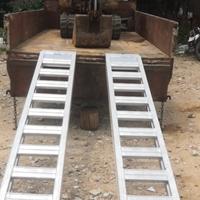挖机铝合金爬梯微挖上下货车爬梯