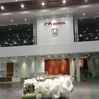 廣汽4s店展廳吊頂裝飾白色勾搭鋁單板