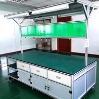 工業鋁型材框架定制 實驗室防靜電工作臺