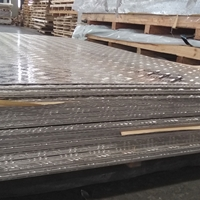 1050H24铝板,大五条筋花纹板
