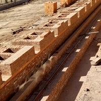 烧道窑墙耐火用重质黏土标准型耐火砖