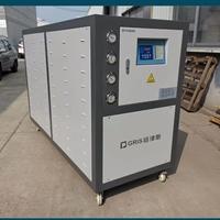 全新升级铝氧化冷水机 水冷恒温一体机
