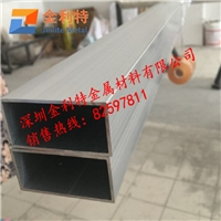 供应大口径6063铝方管