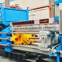 型材挤压机 铝合金挤压双牵引 800吨挤压机
