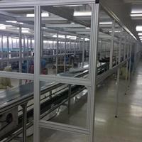 铝型材洁净棚框架 加工定制安装