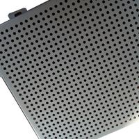 造型直銷打孔幕墻外墻鋁單板