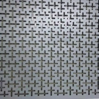 造型時尚鏤空沖孔幕墻鋁板