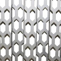 优质铝合金金属六角穿孔板