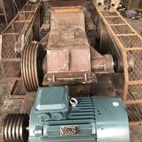 400x600单电机对辊破碎机 耐材石料破碎机