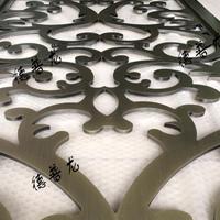 门头艺术金属雕刻板-幕墙镂空雕花铝单板
