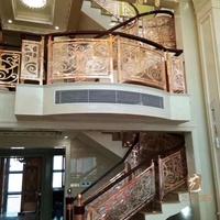 高等别墅楼梯护栏营造出日常居家不同的感觉
