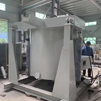 铝合金燃气可倾炉 1.2T熔铝炉