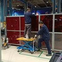 安全防护 铝型材车间隔断围栏