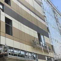 深圳KKMALL商城铝单板_灰黑色幕墙铝单板
